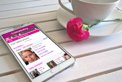 Mobile version of enable dating